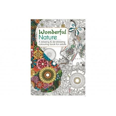 Natur mandala malebog