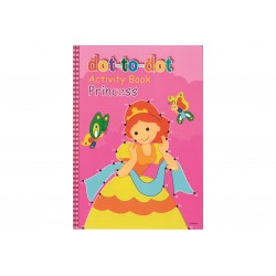 Prinsesser - Prik til prik aktivitetsbog