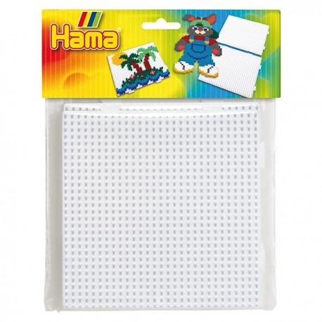 Hama store perleplader midi - 2 kvadrater (4458)