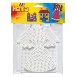 Midi perleplader - Prinsesse og slot (4457) - Hama