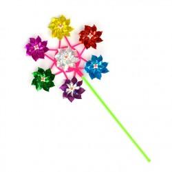 Blomster vindmølle