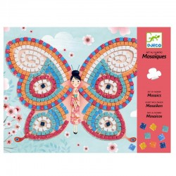 Sommerfugle mosaik - Kreativ æske - Djeco