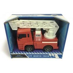 Træk-tilbage brandbil - 15 cm