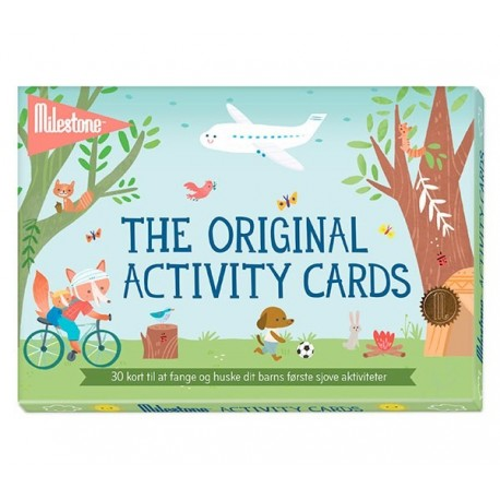 Milestone Activity Cards - Aktivitetskort