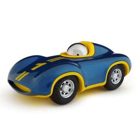 Speedy Le Mans bil - Boy - BlåGul - Playforever