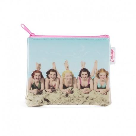 Piger på stranden - Pung - Catseye