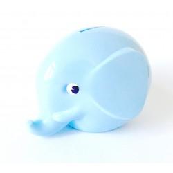 Norsu lyseblå elefant sparebøsse - Mini