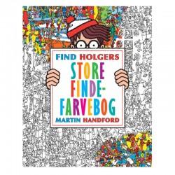 FInd Holgers Store Finde-Farvebog - Alvilda