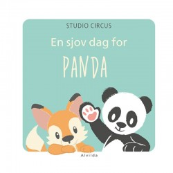 En sjov da for PANDA - Studio Circus papbog