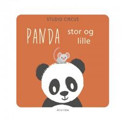 PANDA - stor og lille - Studio Circus papbog