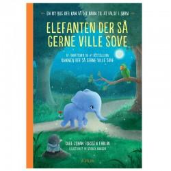 Elefanten der så gerne ville sove - Alvilda børnebog