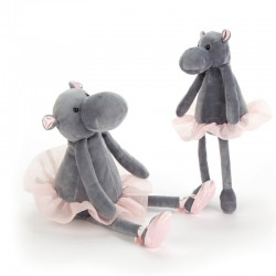 Darcey Flodhest - Lille bamse - Jellycat