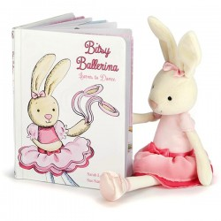 Bitsy Ballerina Learns to Dance - Bog - Jellycat