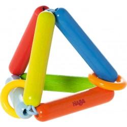 Regnbue trekant med ringe - Rangle - HABA