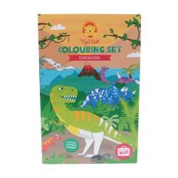 Dinosaurer & tuscher - Kreativ æske - Tiger Tribe