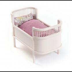 Rosaline dukkeseng - Sart lyserød - Smallstuff