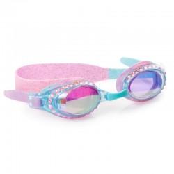Glitter og diamanter svømmebrille - Blå - Bling2O