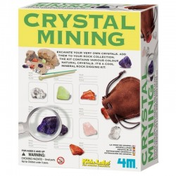Grav efter ægte krystaller - KidzLabs - 4M