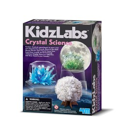 Gro 3 forskellige krystaller - KidzLabs - 4M