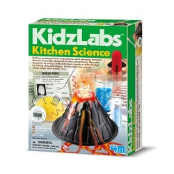 Lav dine egne eksperimenter med ting fra køkkenet - KidzLabs - 4M