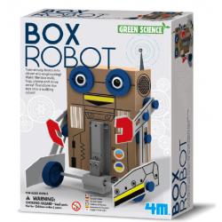 Byg din egen papkasse robot - Green Science - 4M
