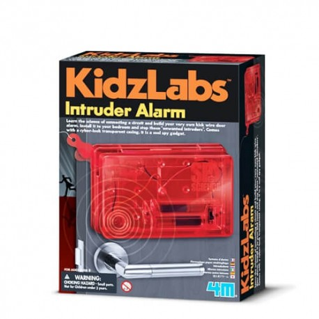 Byg din egen indbruds alarm - KidzLabs - 4M