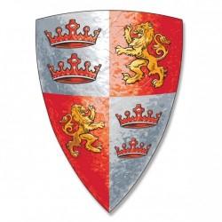 Prins Løvhjerte - Rødt skjold - Liontouch