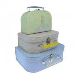Den Lille Prins Grå kuffert - Mellem - Petit Jour