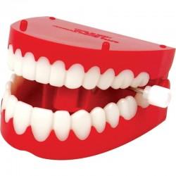Klaprende tænder - Optrækkeligt gebis - TOBAR