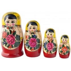 4 stk. Babushka dukker - Traditionel