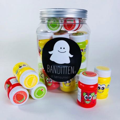 Mini sæbebobler med frugtduft - Scentos