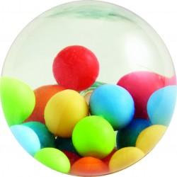 Hoppebold med farverige bolde - HABA