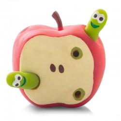 Æble med orme - Stræklegetøj - Tobar