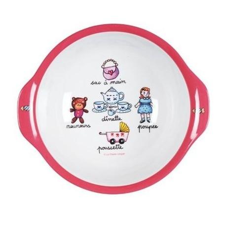 Dyb tallerken - Pigelegetøj - La Chaise Longue