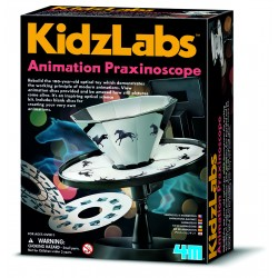 Animation Praxiniscope - KidzLabs - 4M