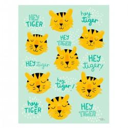 Michelle Carlslund plakat - Hey Tiger