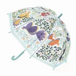 Blomster og fugle - Paraply - Djeco