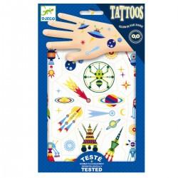 I rummet - Selvlysende tatoveringer - Djeco