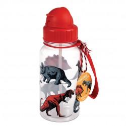 Dinosaurer - Drikkeflaske med sugerør - Rex London