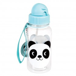 Panda - Drikkeflaske med sugerør - Rex London