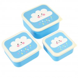 Happy Cloud Snack boxes - 3 stk. - Rex London