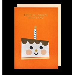 Lets Celebrate with Cake - Kort & kuvert - Lagom