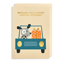 Wishing You a Super Special Birthday - Kort & kuvert - Lagom