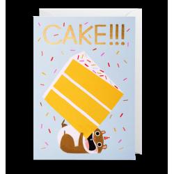 CAKE!!! - Kort & kuvert - Lagom