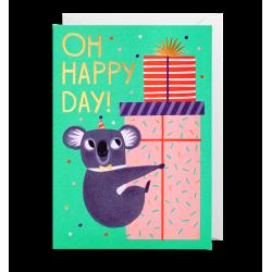 OH Happy Day! - Kort & kuvert - Lagom