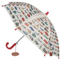 Retro biler - Paraply til børn - Rex London