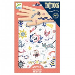 Sweet Dreams - Selvlysende tatoveringer - Djeco