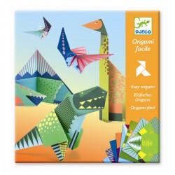 Dinosaurer - Origami figurer - Djeco