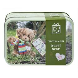 Lav din egen Teddy bjørn - Gift in a tin