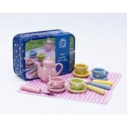 Dukke te-stel - Gift in a tin